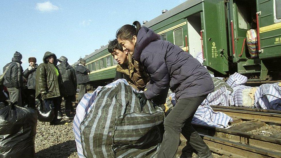 Jalur kereta China-Rusia