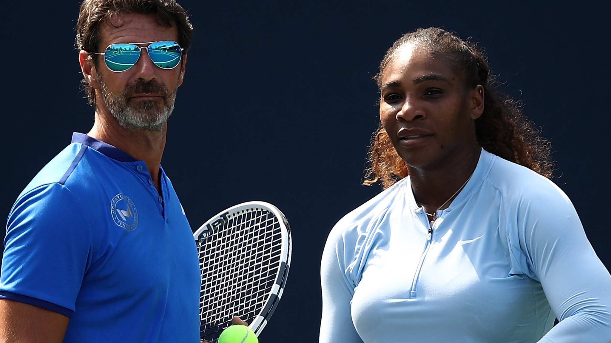Serena Williams' coach says allowing on-court coaching would improve tennis