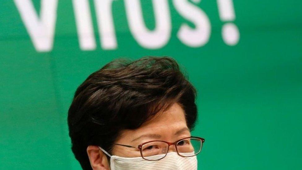 林鄭月娥說,押後選舉完全沒有政治考慮。