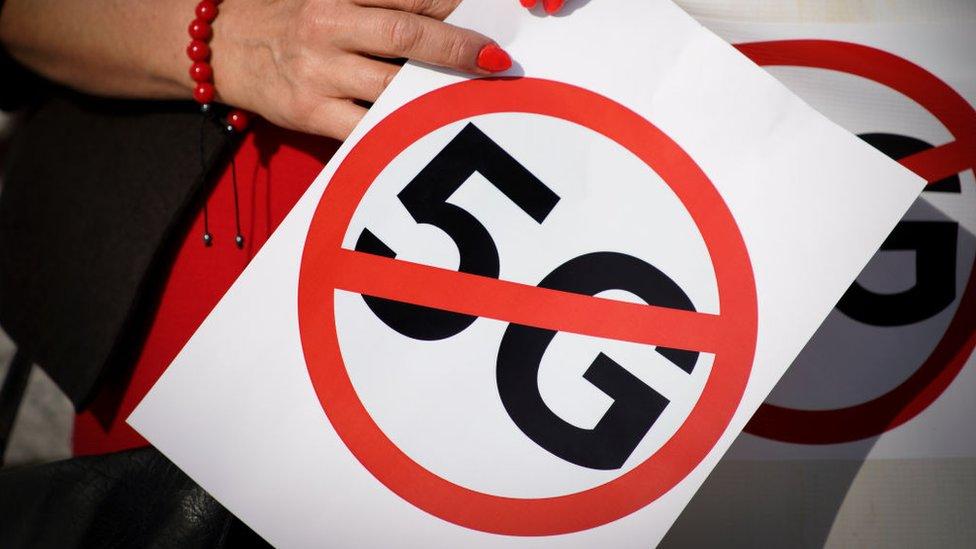 protestas contra 5G