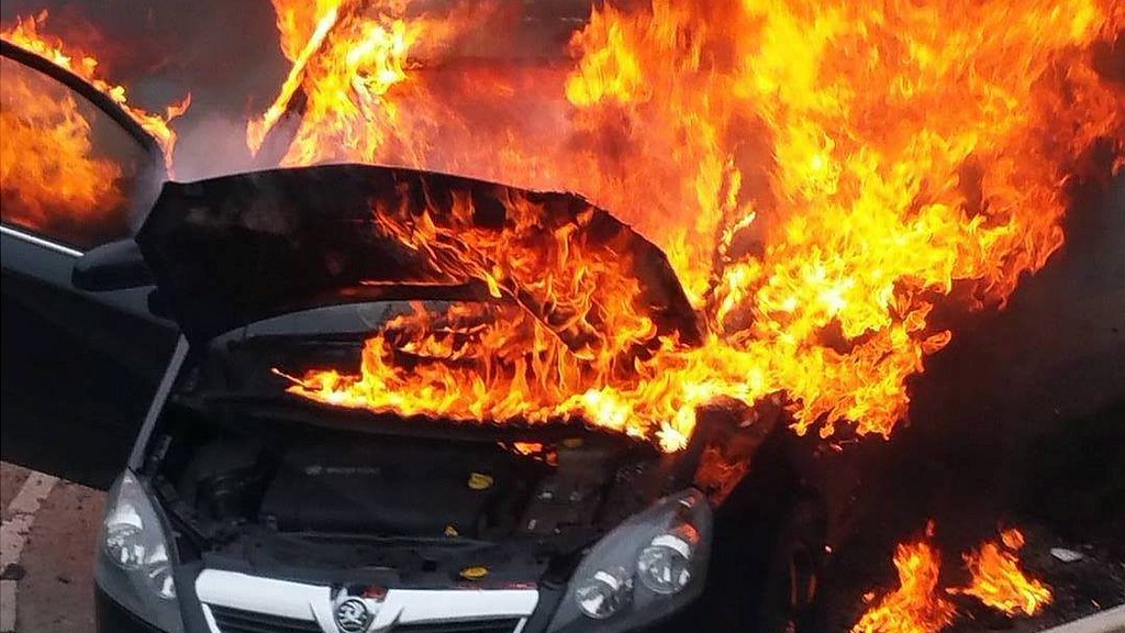 Vauxhall 'reckless' over Zafira fires, say MPs