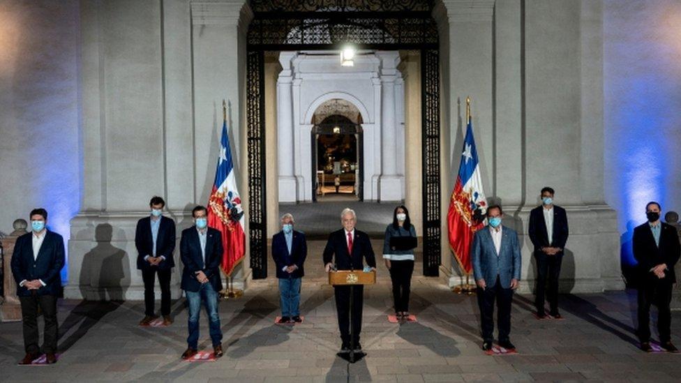 Gabinete de Piñera