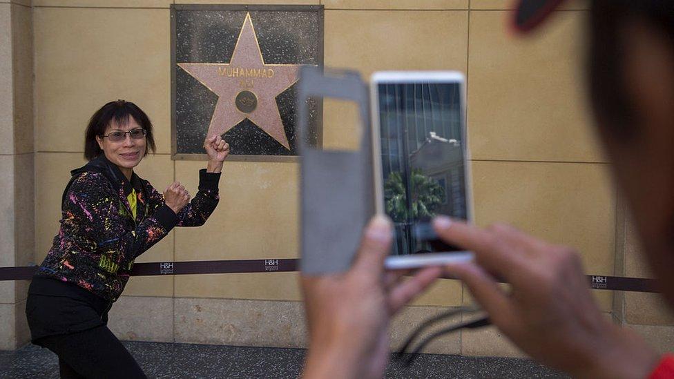 Estrella de Muhammad Ali