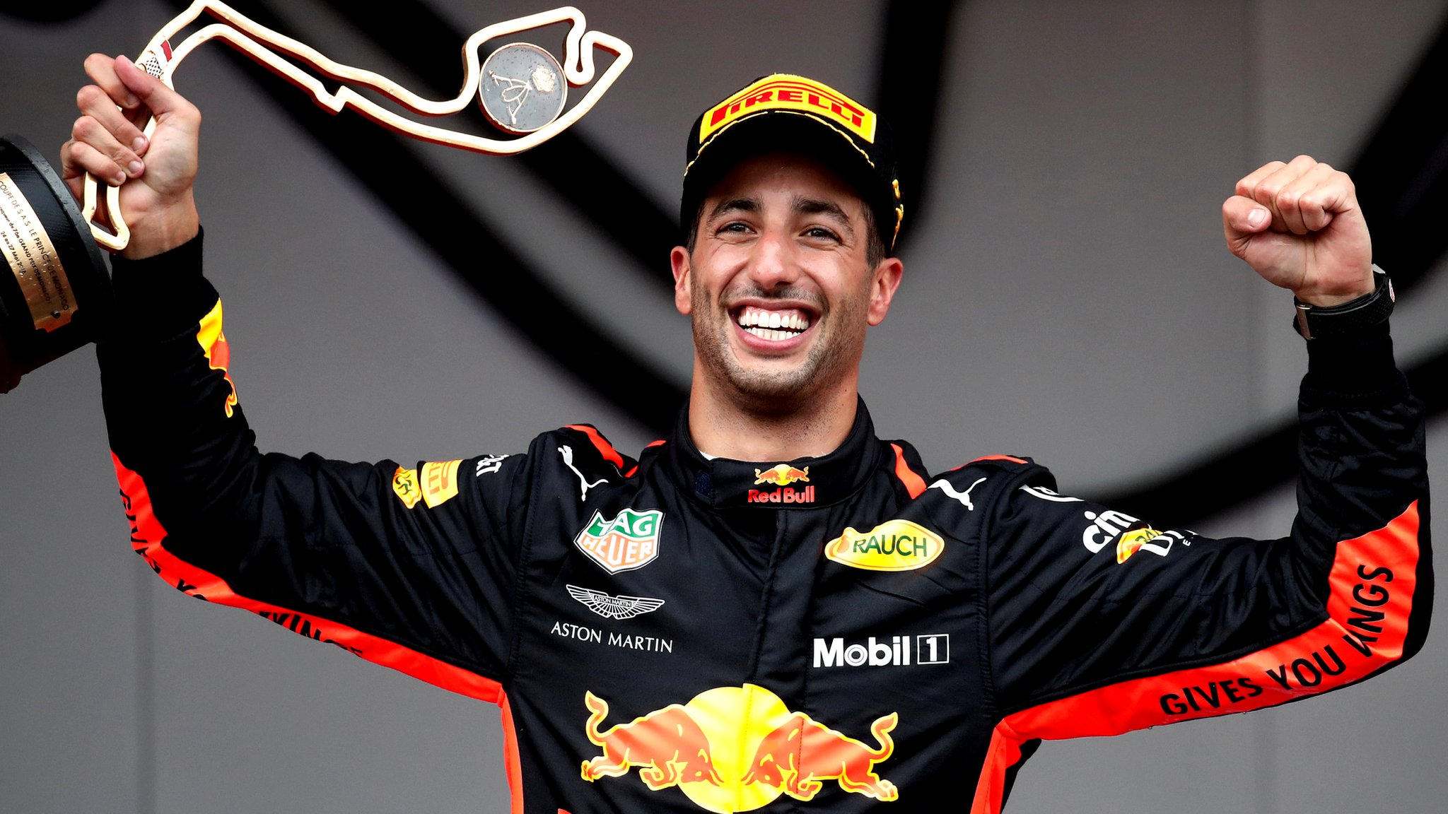 Monaco Grand Prix: Daniel Ricciardo fends off Sebastian Vettel for victory