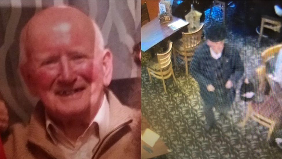 Search for 90-year-old missing man William Scott in Edinburgh