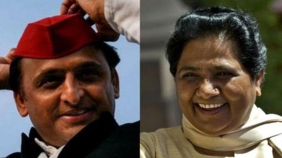Exit Polls के मुताबिक़ उत्तर प्रदेश और बिहार में आगे कौन