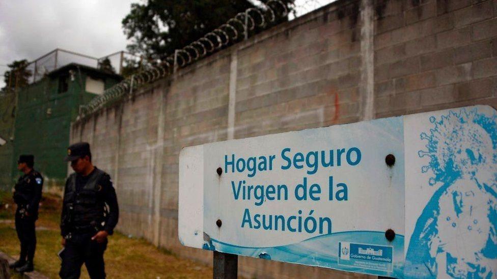 Hogar Seguro Virgen de la Asunción en Guatemala