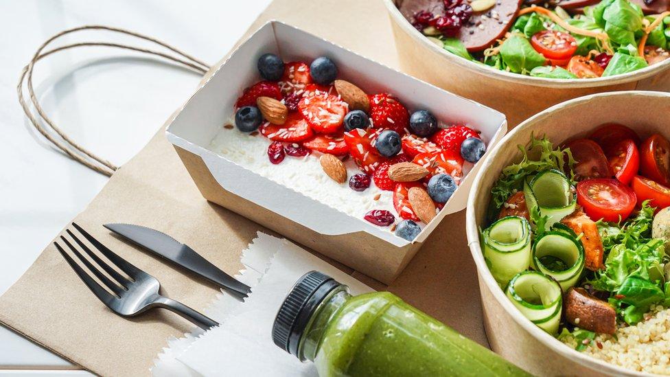 Prepared healthy food