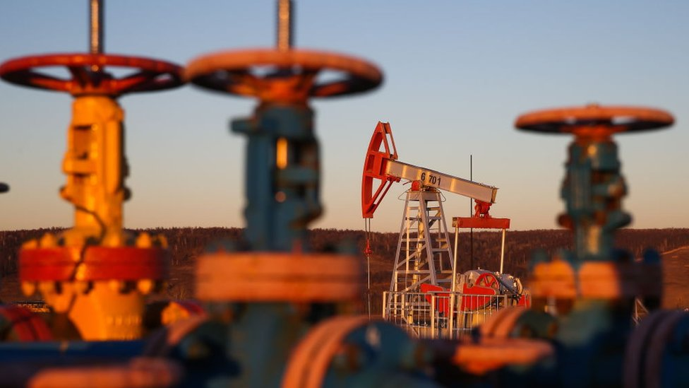 Producción petrolera en Rusia