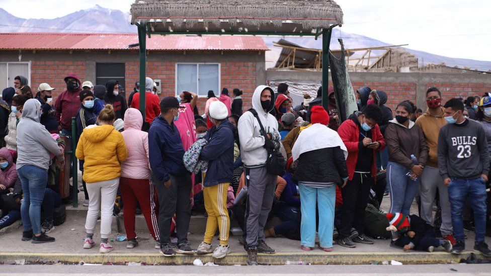 Extranjeros en Chile
