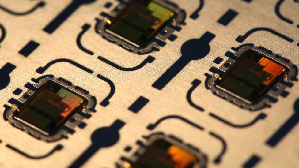 Un chip semiconductor