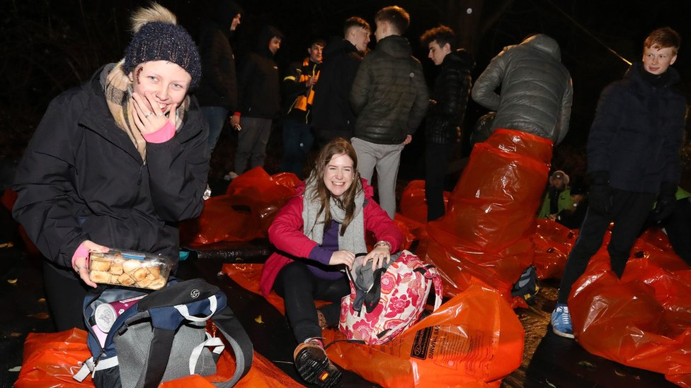 World's Big Sleep Out event in Edinburgh