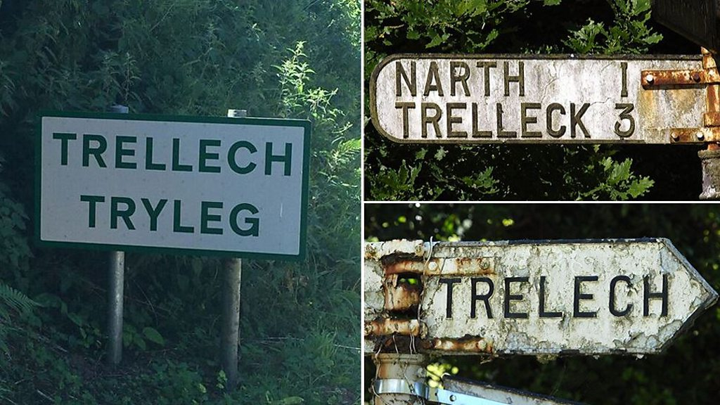 Why one Welsh village name has more than 20 spellings
