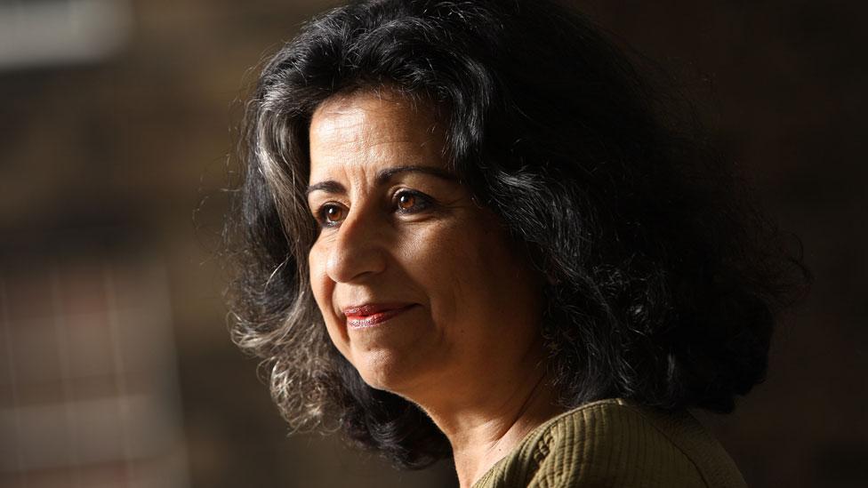 Ahdaf Soueif in 2012