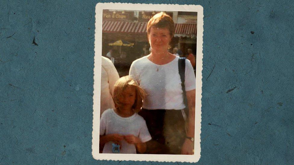 Becky y su madre