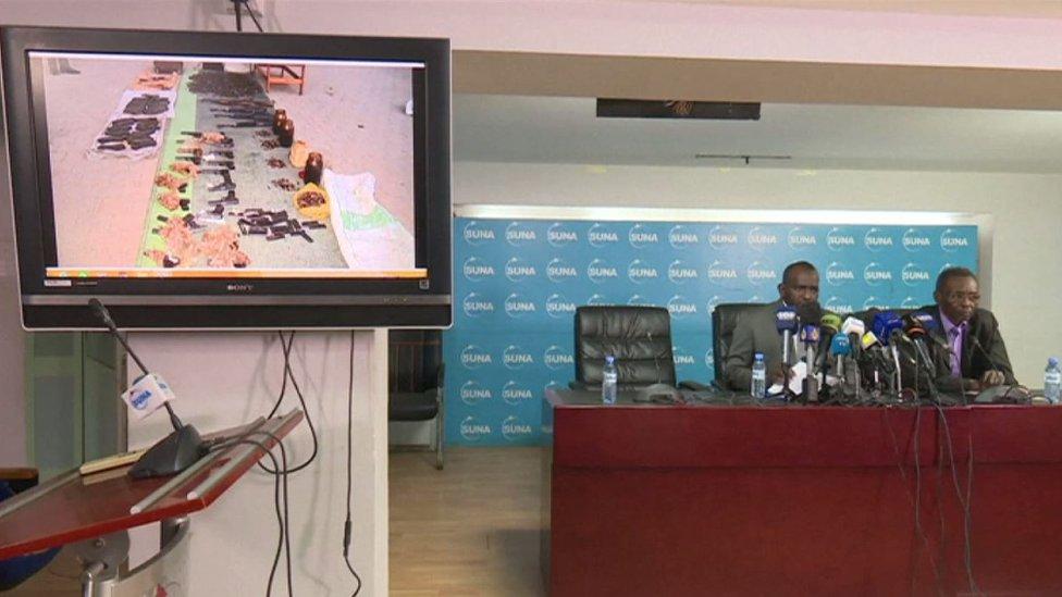 مؤتمر صحفي عقدته الحكومة السابقة عن المحتجزين الشبان من دارفور