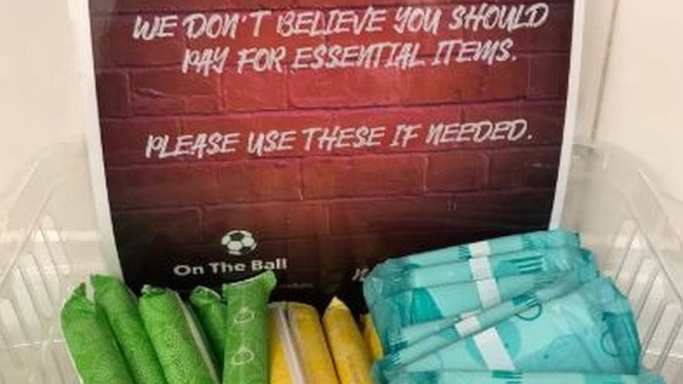 Period poverty: Barnsley FC offer free sanitary items