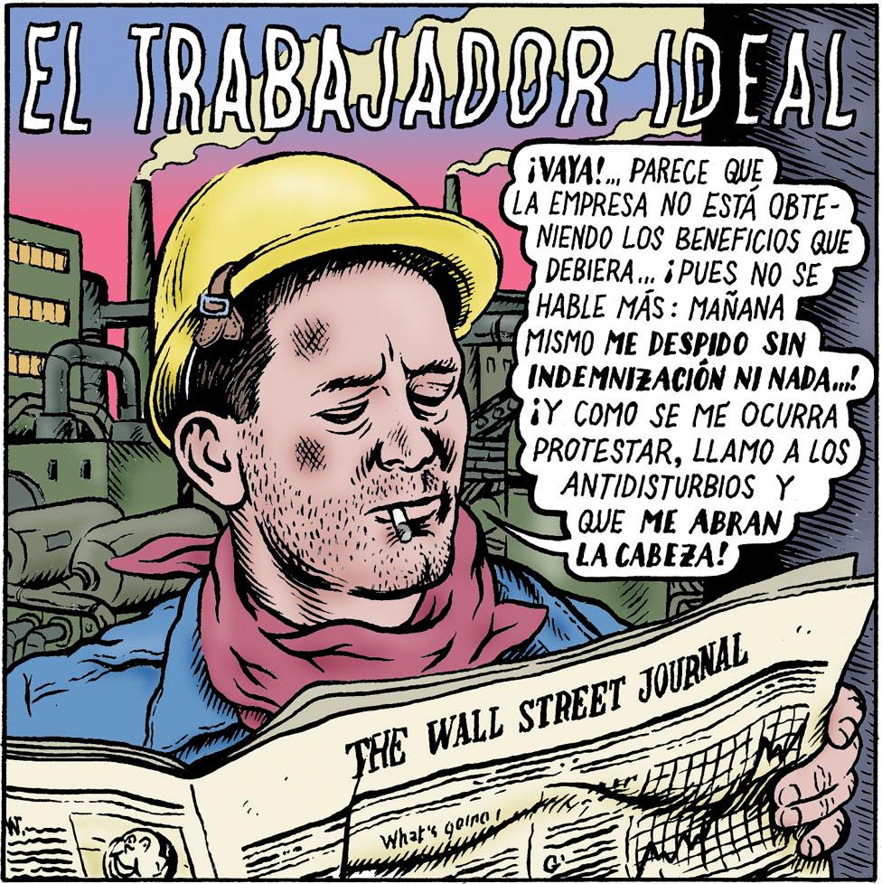 Historieta de Miguel Brieva