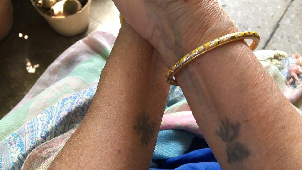 Mum's tattoos