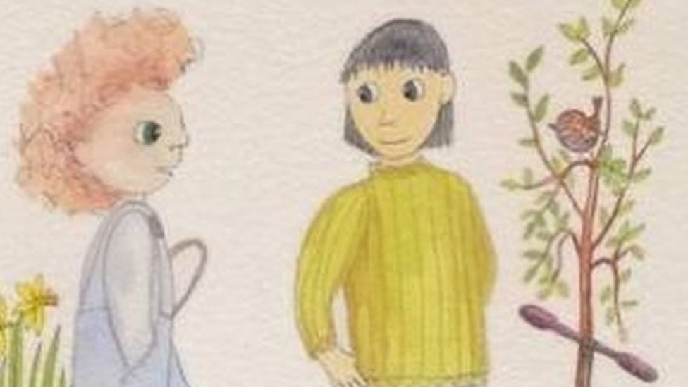 Whisper, a children's book