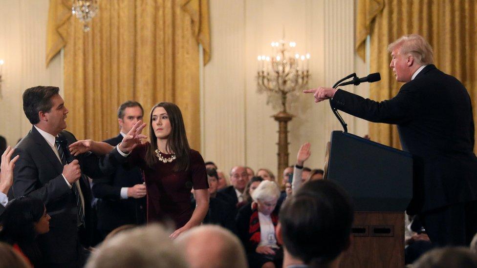 CNN sues Trump over Jim Acosta's credential suspension