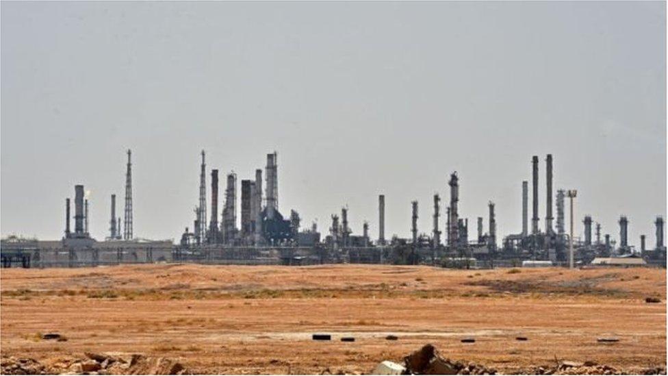 सऊदी के तेल ठिकाने