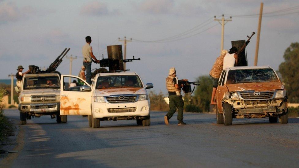 ميليشيات في طرابلس