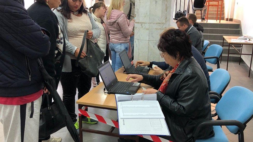 Glasanje na Kosovu