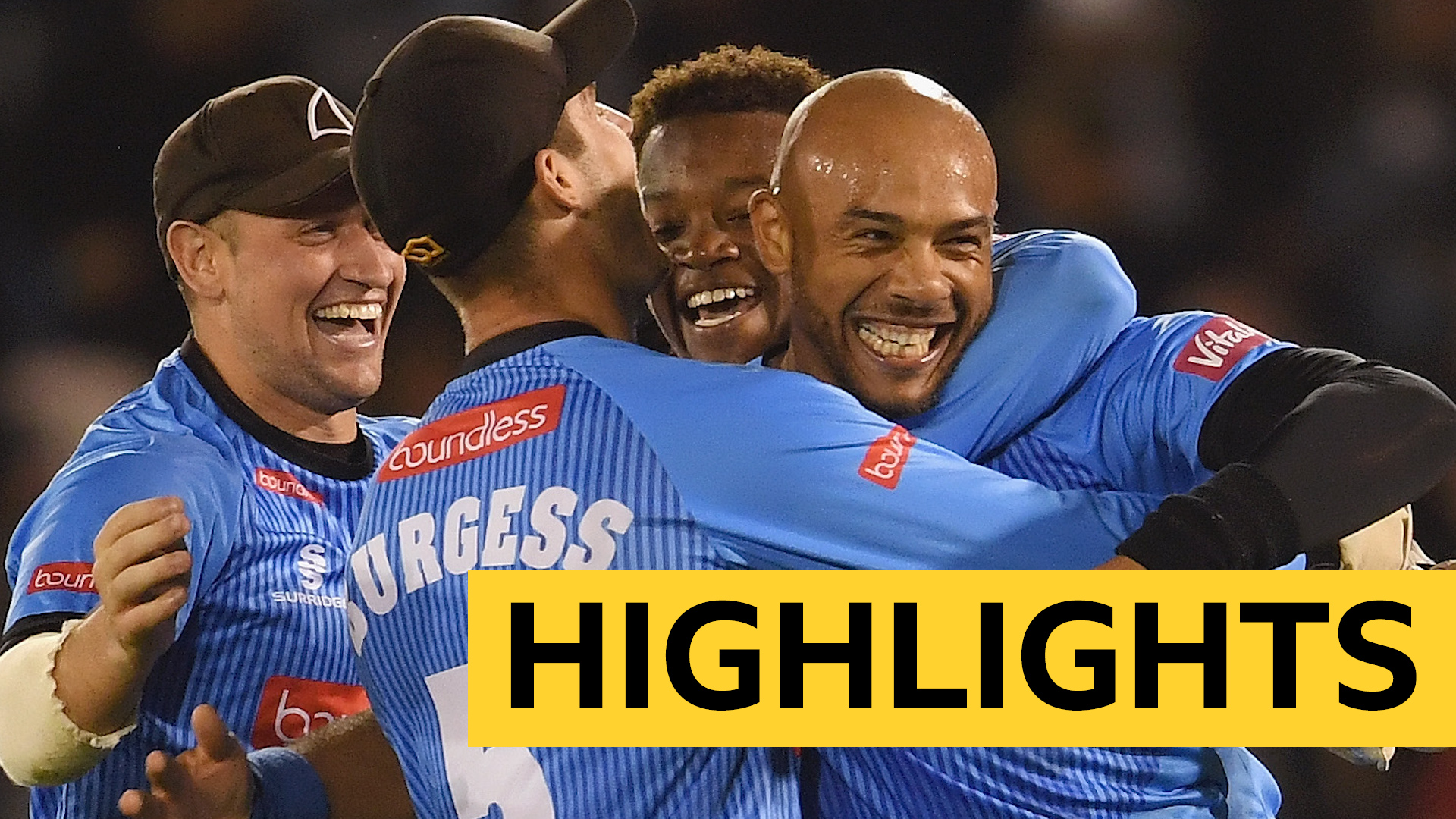 T20 Blast: Tymal Mills hat-trick as Sussex Sharks beat Glamorgan