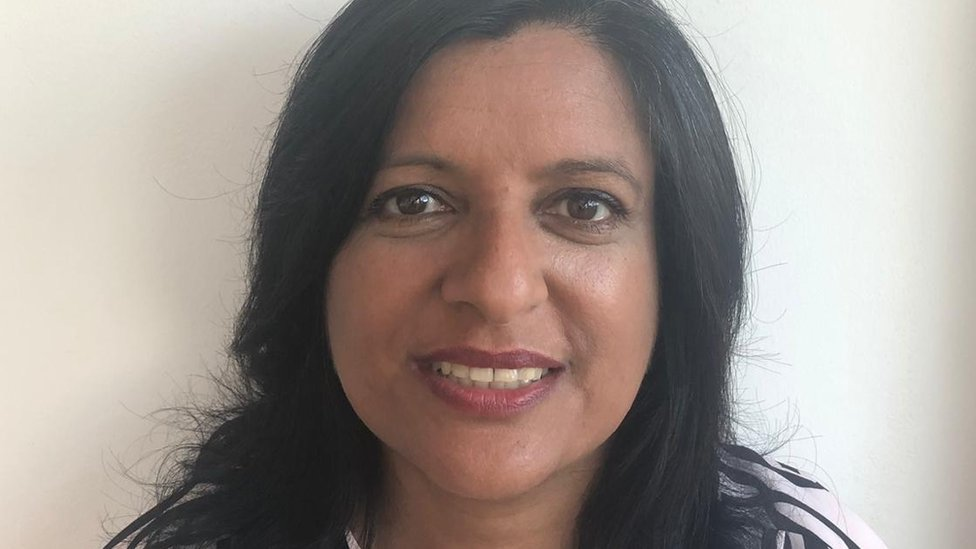 Aruna Bansal from the Asian Single Parents Network