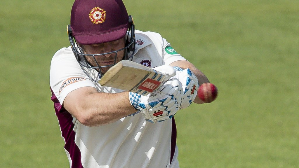 County Championship: Northants draw with Sussex with final-day batting effort