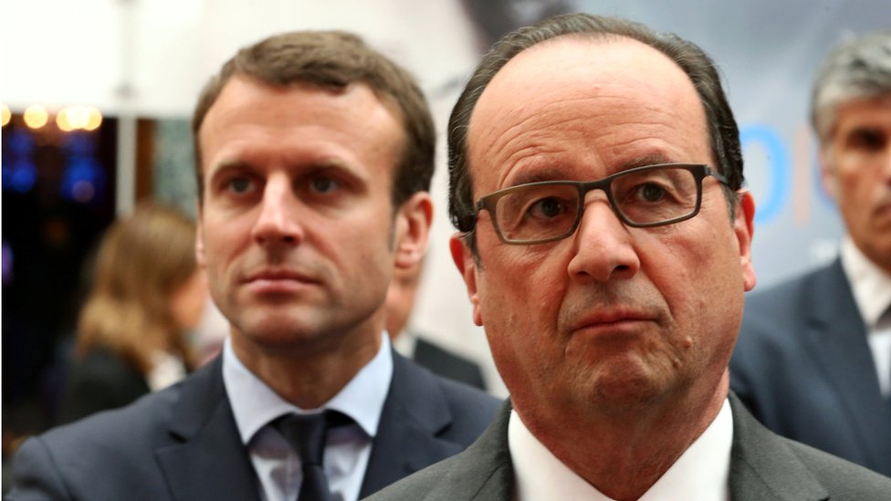 France Elections Hollande Slaps Down Ambitious Minister Macron Bbc News