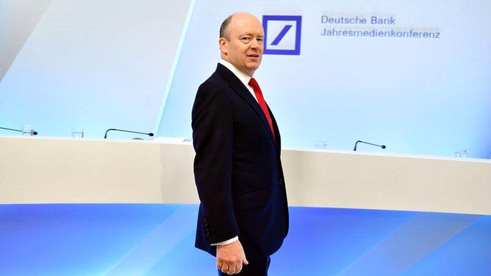 """جون كريان الرئيس التنفيذي لمصرف """"دويتشه بنك"""""""