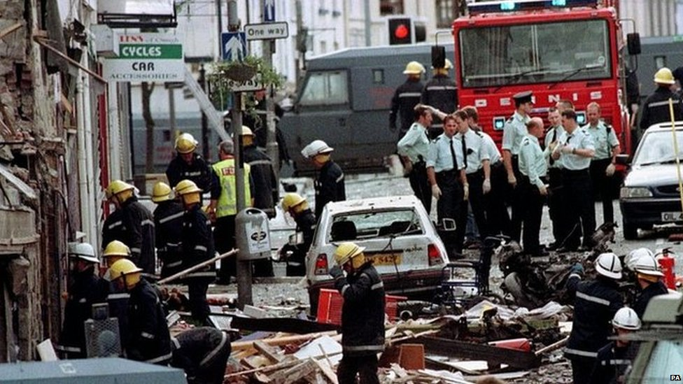 Omagh bomb: Bell tolls to mark 20th anniversary