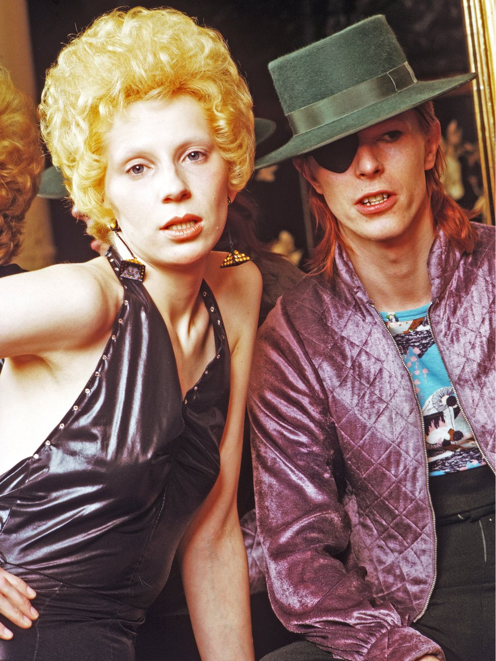 Bowie and Angie Barnett, 1974