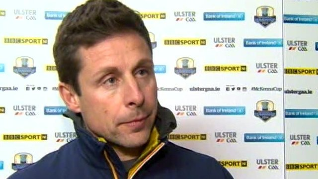 Antrim joint-manager Gearoid Adams is glad the McKenna Cup is over