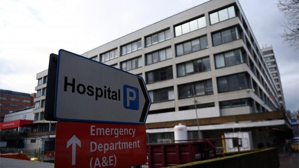 Londra hastane