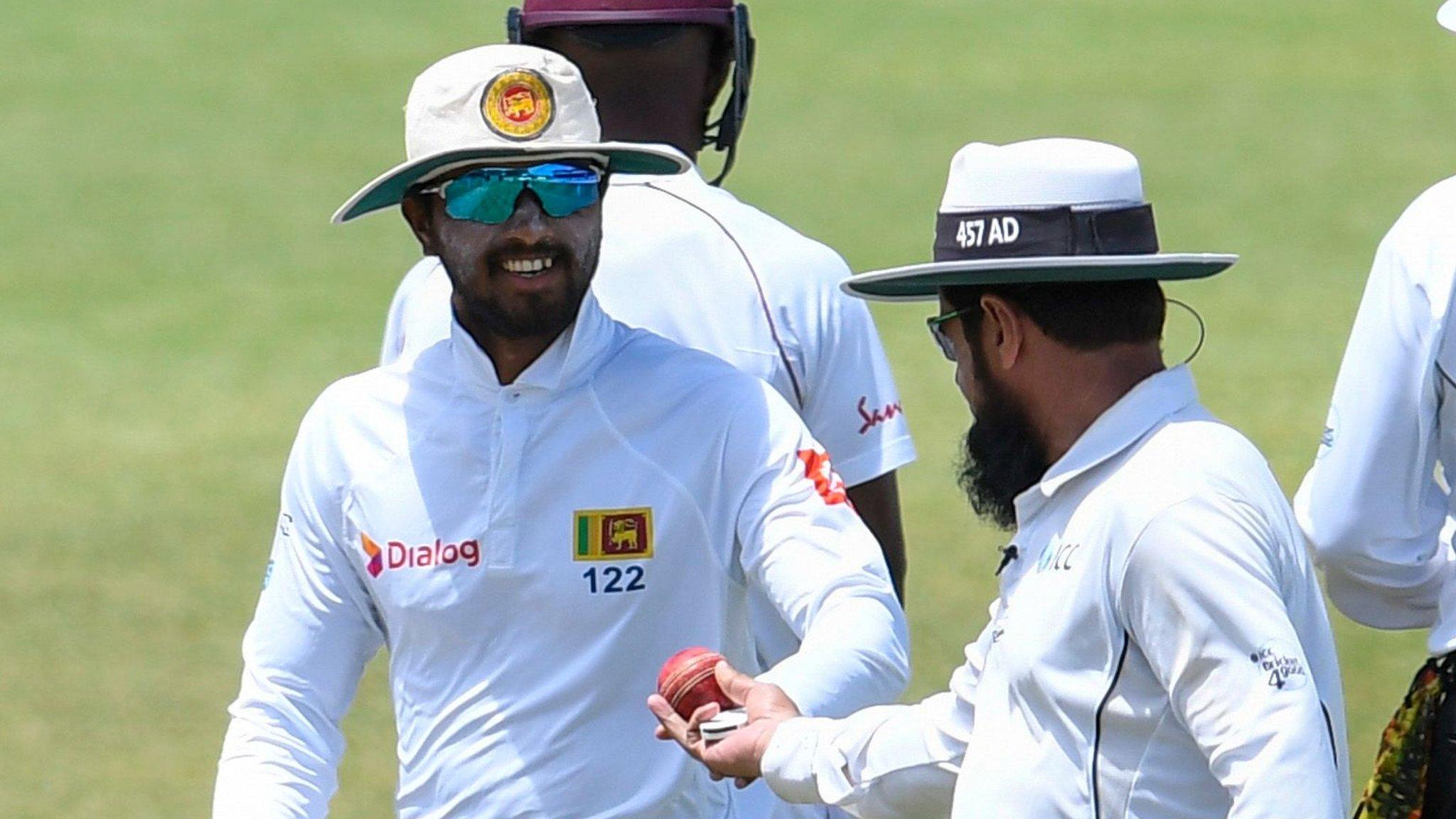 Sri Lanka captain Chandimal denies ball tampering charge