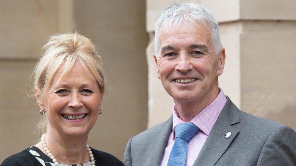 Elizabeth and David Carney-Haworth