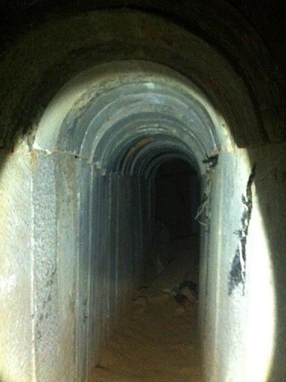 Tunel Izrael Gaza BBC