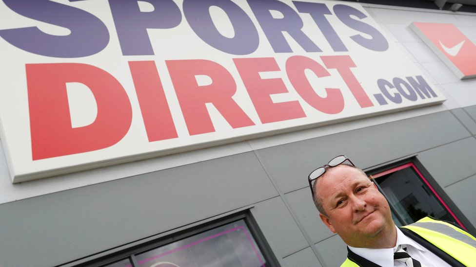 Mike Ashley, founder and chief executive of Sports Direct