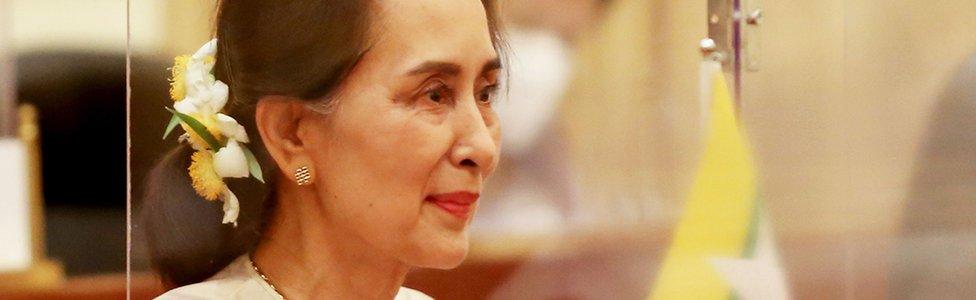 Aung San Suu Kyi en 2020.