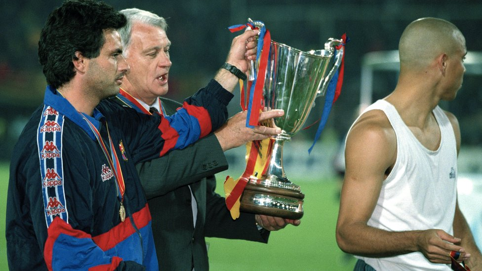 Mourinho with Bobby Robson