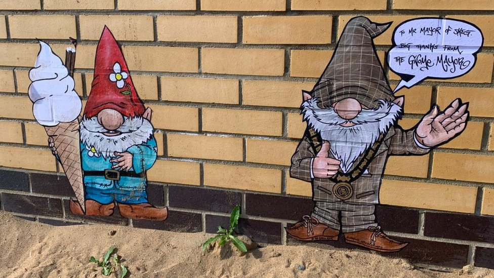 Skegness gnomes