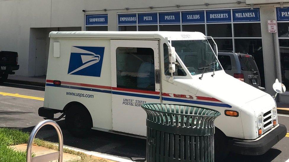 Vehículo del USPS