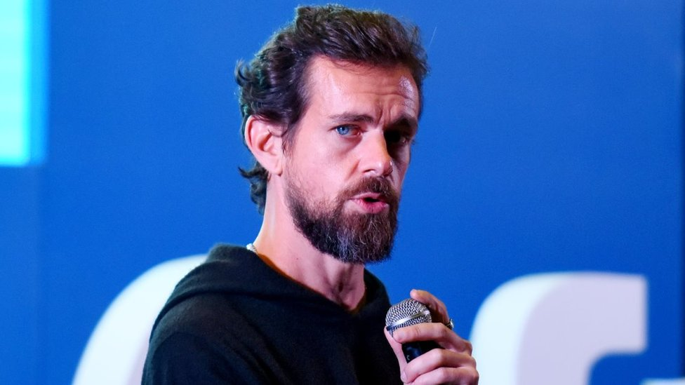 Twitter CEO and Co Founder, Jack Dorsey addresses students at the Indian Institute of Technology (IIT)