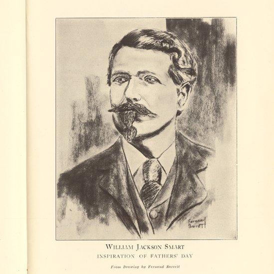 William Smart, la inspiración para la celebración del Día del Padre.