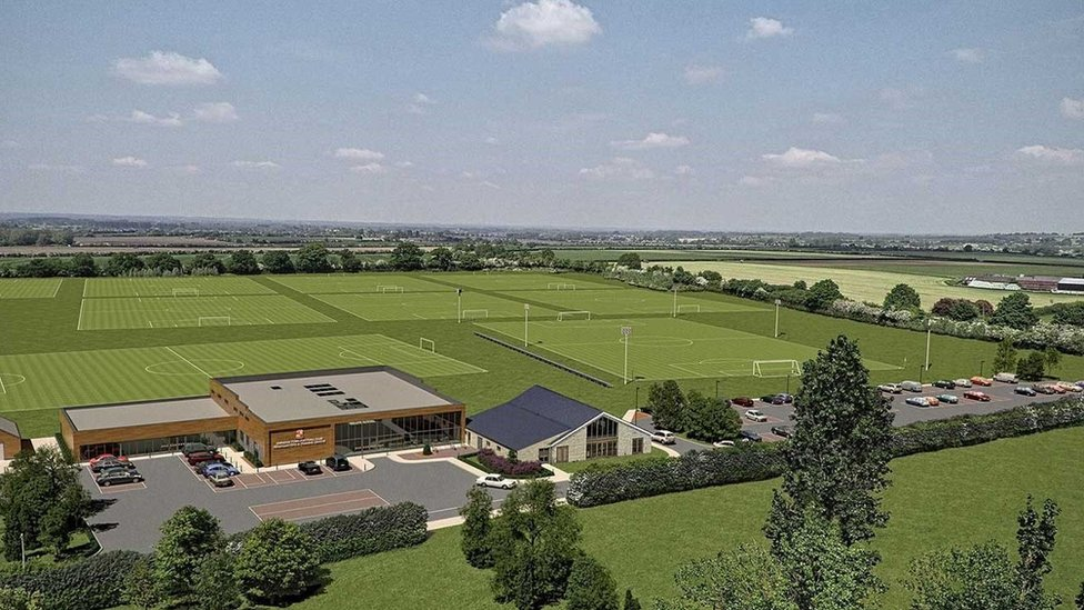 Swindon Town training HQ plans submitted