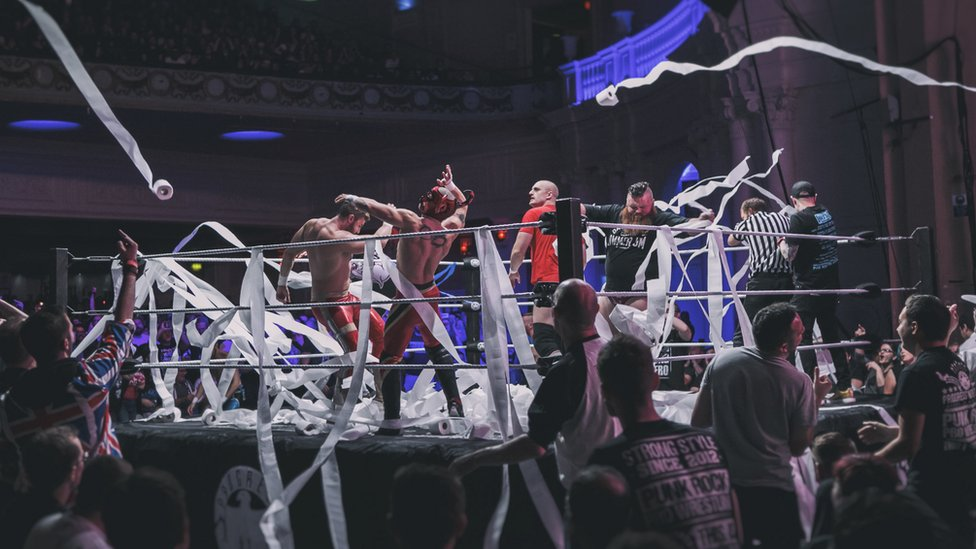 The Progress Wrestling event at Brixton Academy in September, 2016