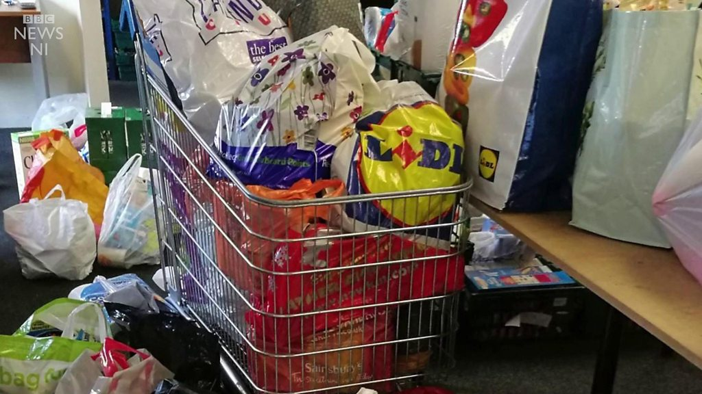 Food banks: 'I couldn't survive without them'